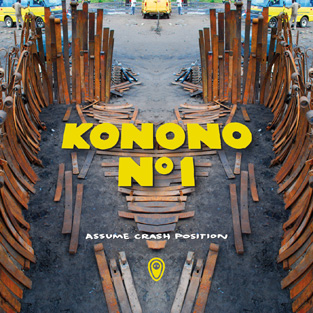 KONONO NO.1 - Assume Crash Position (Crammed Discs 2010.)
